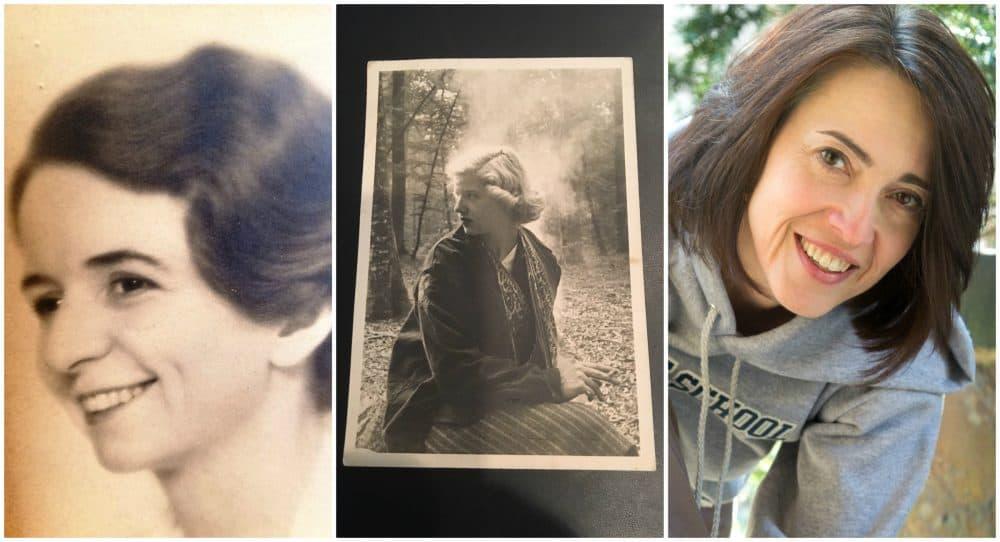 L-R: Ellen Daniloff, the author's grandmother, pictured in 1934; Aya Daniloff, the author's aunt, pictured in 1952; the author pictured in 2009. (Courtesy)