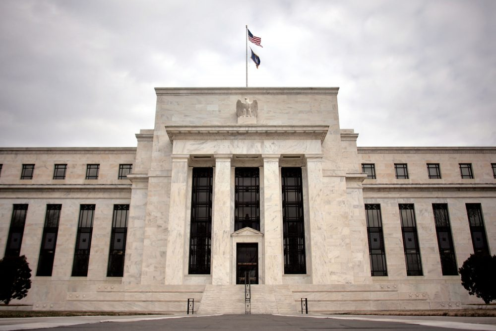 The Federal Reserve building on Jan. 22, 2008 in Washington, D.C. (Chip Somodevilla/Getty Images)