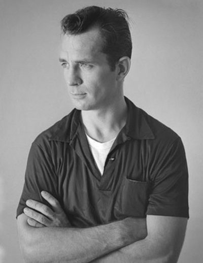 Jack Kerouac as photographed by Tom Palumbo around 1956. (Wikimedia Commons)