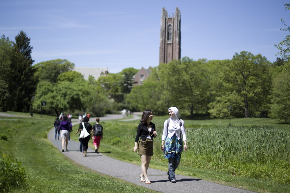 Wellesley College is the first in the nation to use an intervention designed to help Asian-American women's mental health. (Yoon S. Byun/Wellesley College)