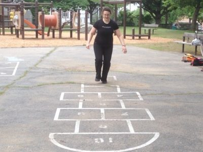 """The playground workout is part of the """"lifestyle exercise"""" concept of fitting exercise into your life where and when you can. (WBUR)"""