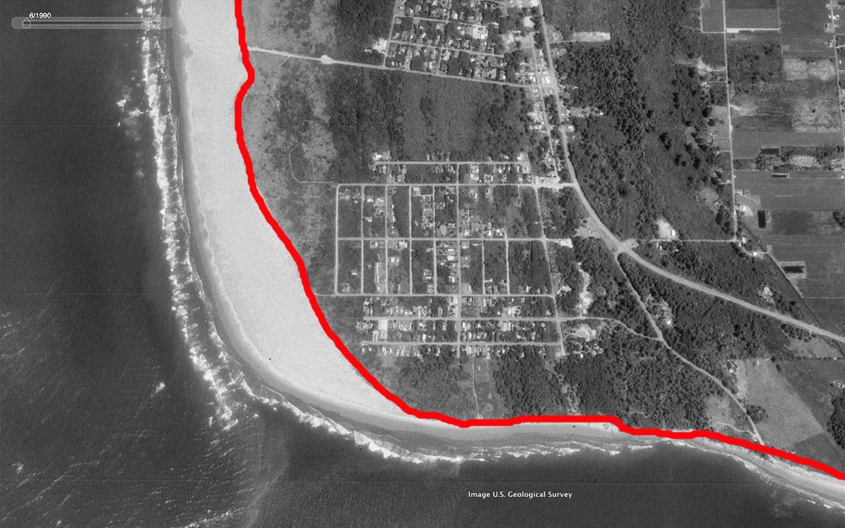 Coastal Erosion Washing Away Beachfront Community In Washington ...