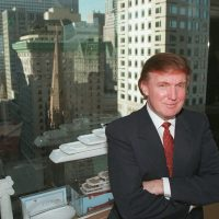 Donald Trump is shown in his office in New York City, Oct. 30, 1996. (Anders Krusberg/AP)