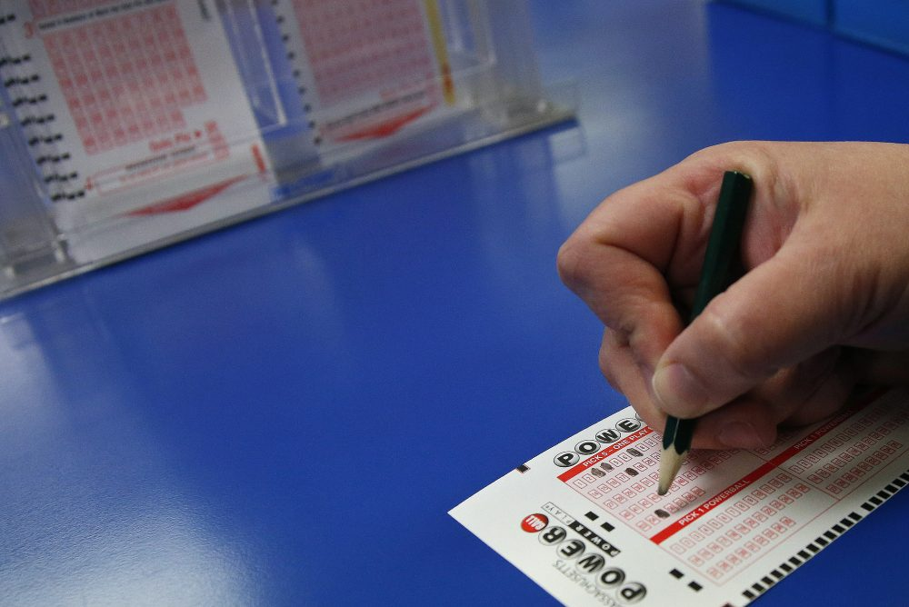 Treasurer Deborah Goldberg said that without the $27 million in Lottery profits from the world record $1.5 billion Powerball jackpot in January, she might have had to report a loss in Lottery sales. (Elise Amendola/AP)