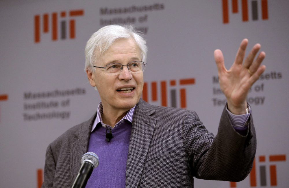 "Finnish Professor Bengt Holmström of the Massachusetts Institute of Technology received the Nobel Memorial Prize in Economic Sciences along with Harvard University professor Oliver Hart. The Nobel jury praised the winners ""for their contributions to contract theory."" (Steven Senne/AP)"