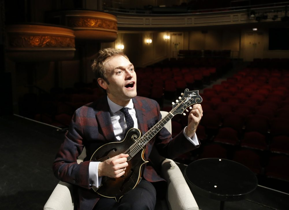 Mandolin Virtuoso Chris Thile Takes Over As A Prairie Home