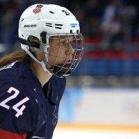 After a concussion almost ended her Olympic dreams, Josephine Pucci decided she would research the brain and pursue a medical degree. (Bruce Bennett/Getty Images)