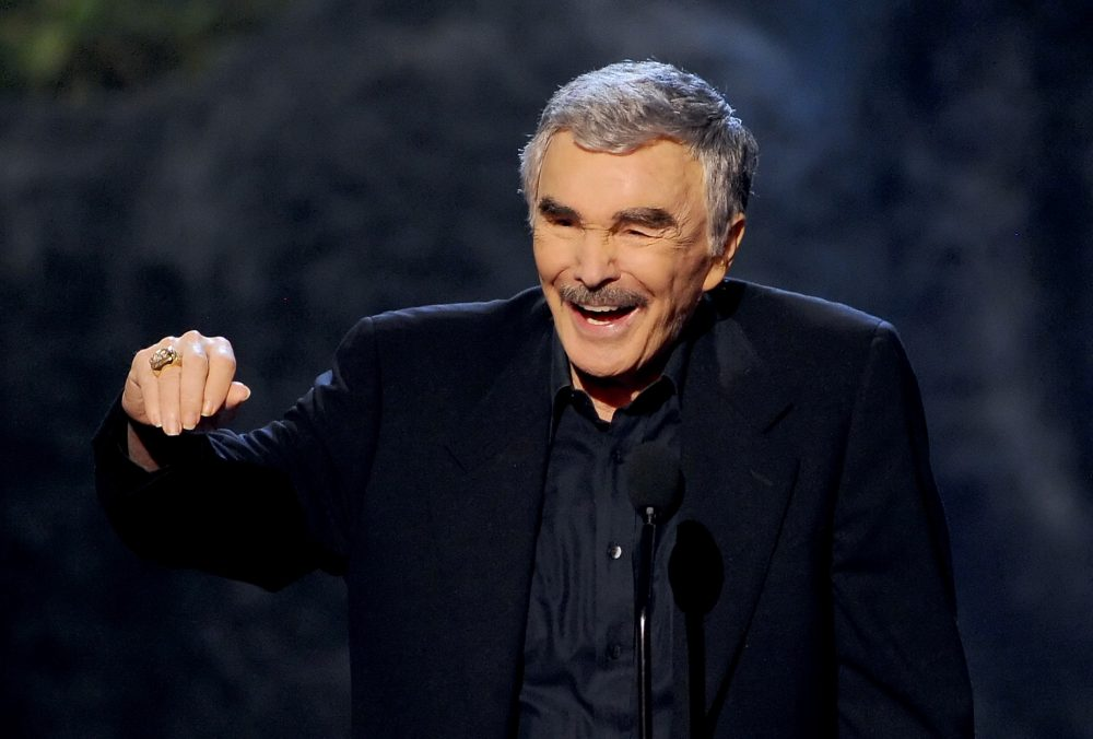 Actor Burt Reynolds accepts an award onstage during Spike TV's Guys Choice 2013 at Sony Pictures Studios on June 8, 2013 in Culver City, Calif. (Kevin Winter/Getty Images for Spike TV)
