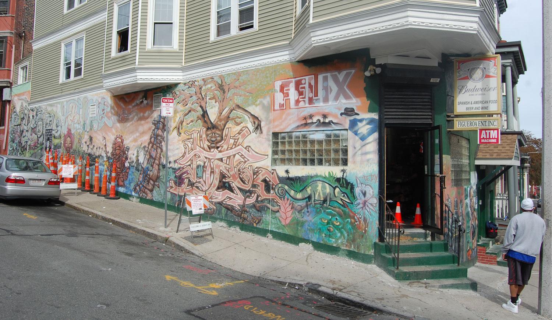 A Tour Of Street Art In Roxbury, By Boston Artist Cedric