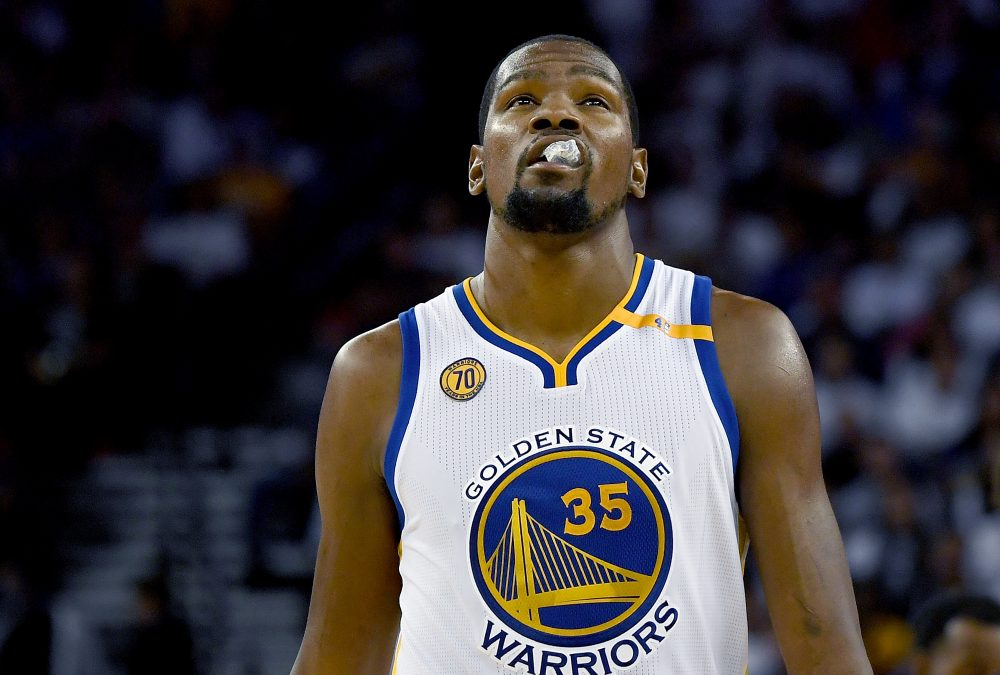 Golden State forward Kevin Durant.  (Thearon W. Henderson/Getty Images)