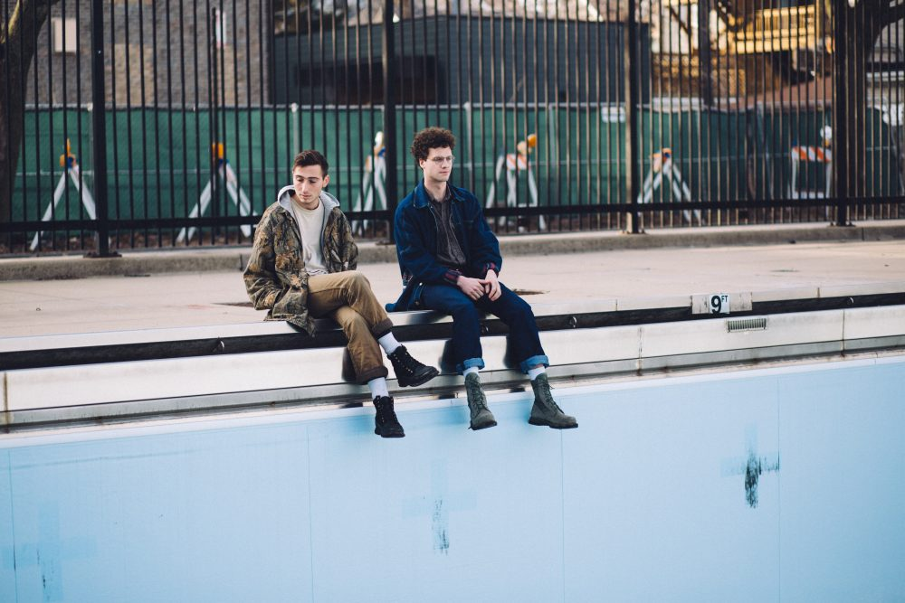 Max Kakacek and Julien Ehrlich, of the band Whitney. (Courtesy Dominique Goncalves)