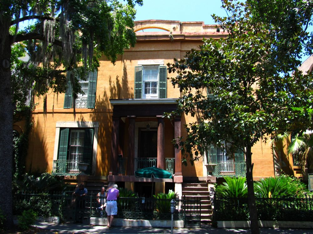 The Sorrel-Weed House in Savannah, Ga. is one location among the many that host ghost tours in the south. (Ken Lund/Flickr)