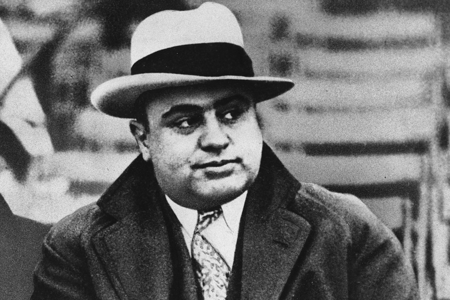 This Jan. 19, 1931, file photo shows Chicago mobster Al Capone at a football game. (AP File)