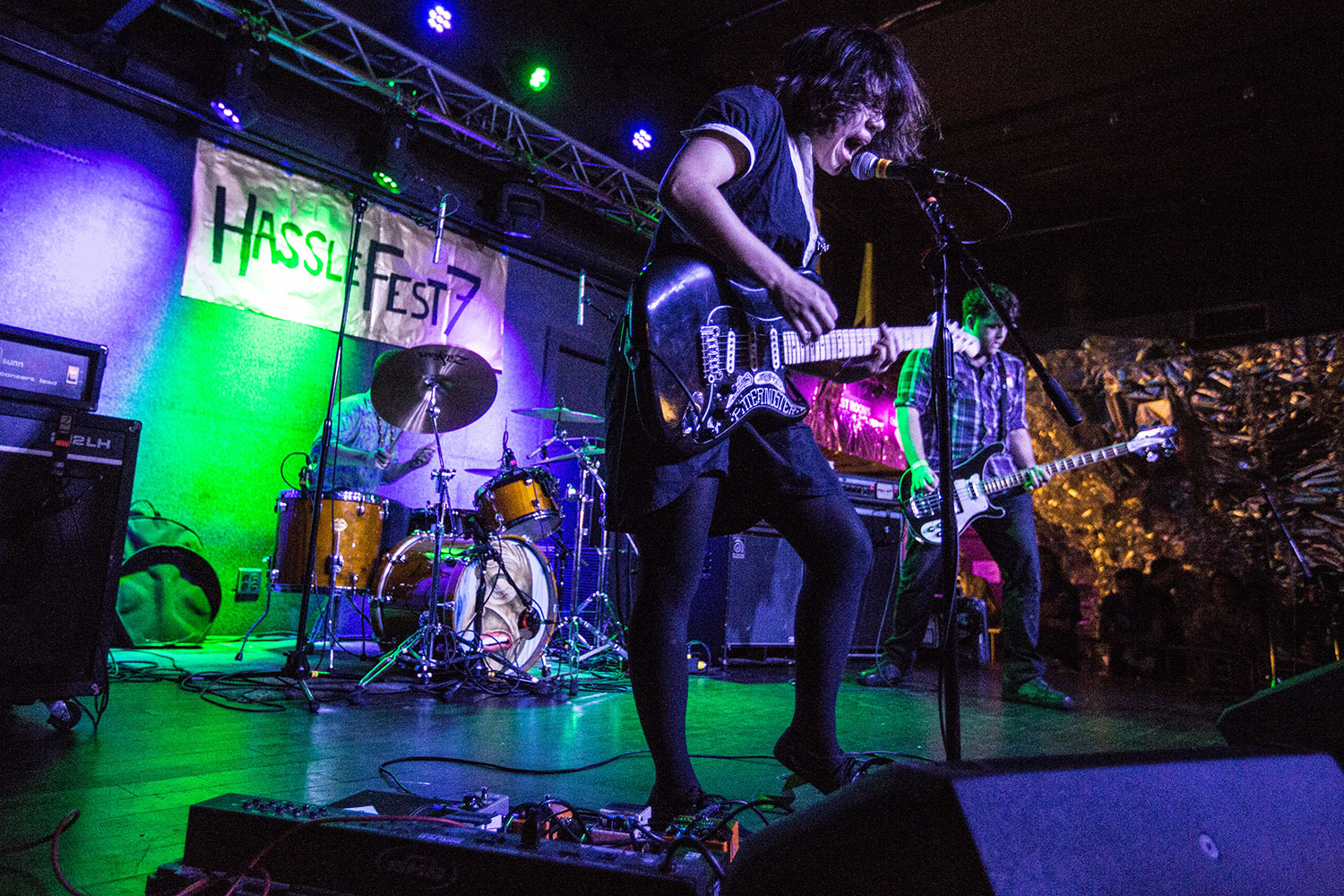 Screaming Females performed at HassleFest 7 in 2015. (Courtesy Ben Stas)
