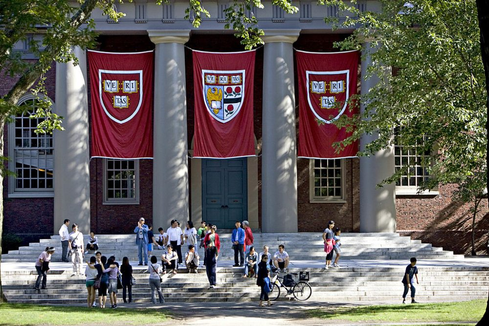 """They have too much confidence in themselves and in each other to feel diminished by insults,"" Littlefield writes of the members of the Harvard women's soccer team. (Michael Fein/Bloomberg via Getty Images)"