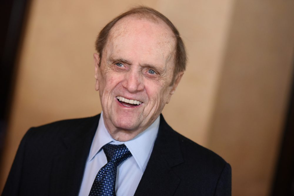 Bob Newhart, photographed in Beverly Hills in February of 2015. At 87, he is still doing standup gigs. (Richard Shotwell/Invision/AP)