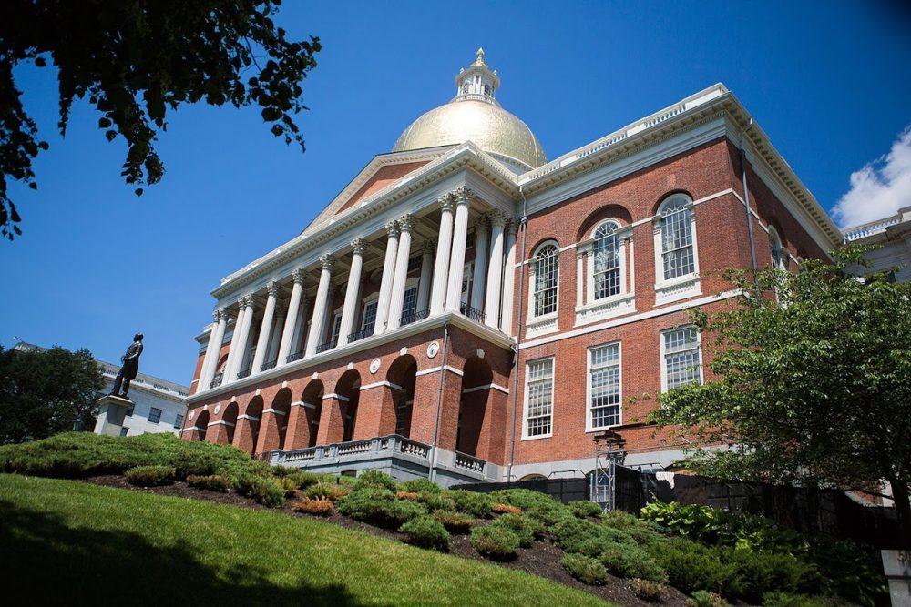 Massachusetts State House. (Jesse Costa/WBUR)
