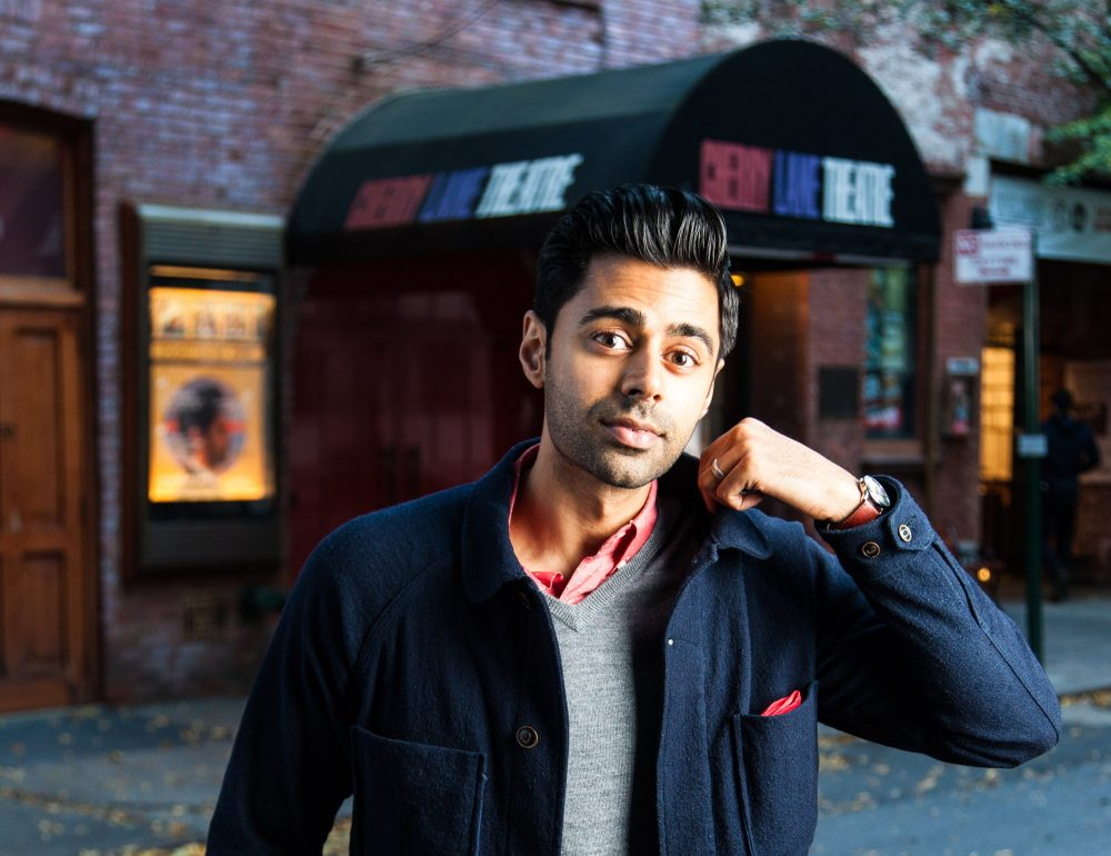 "Comedian Hasan Minhaj, currently a correspondent on ""The Daily Show,"" is bringing is one-man show to Boston. (Courtesy Andrew Kist)"