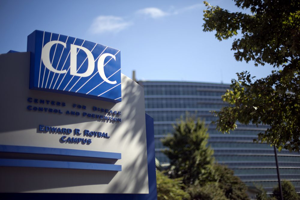 In this Tuesday, Oct. 8, 2013, file photo, a sign marks the entrance to the federal Centers for Disease Control and Prevention in Atlanta. (David Goldman/AP)