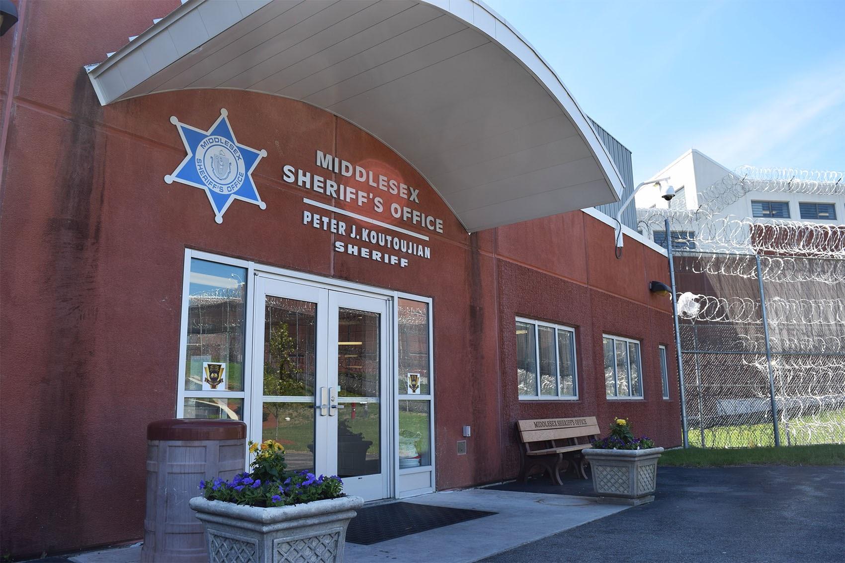 Middlesex Jail & House of Correction in Billerica. (Steve Brown/ WBUR)
