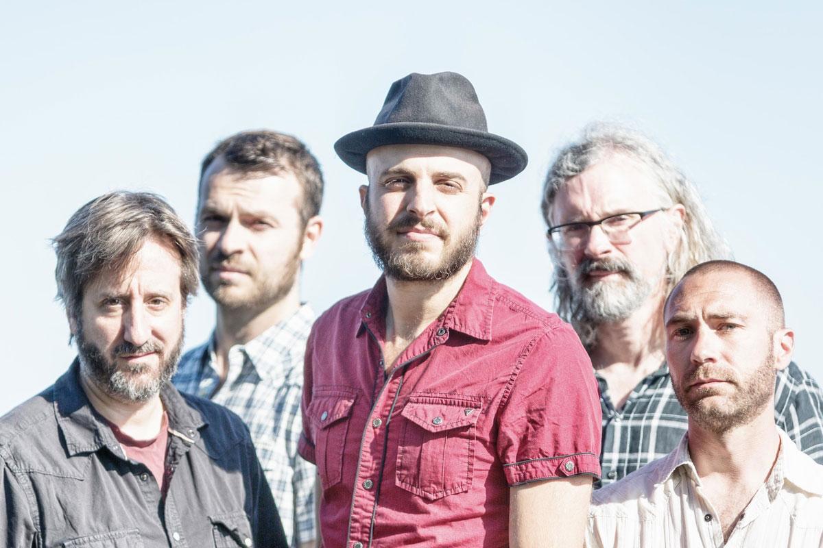 Boston-based band Kingsley Flood. (Courtesy Mike Spencer)