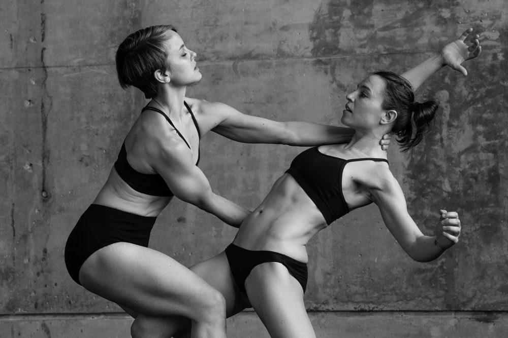 Shura Baryshnikov and Danielle Davidson, co-founders of the Doppelgänger Dance Collective. (Courtesy Marc Pilaro)