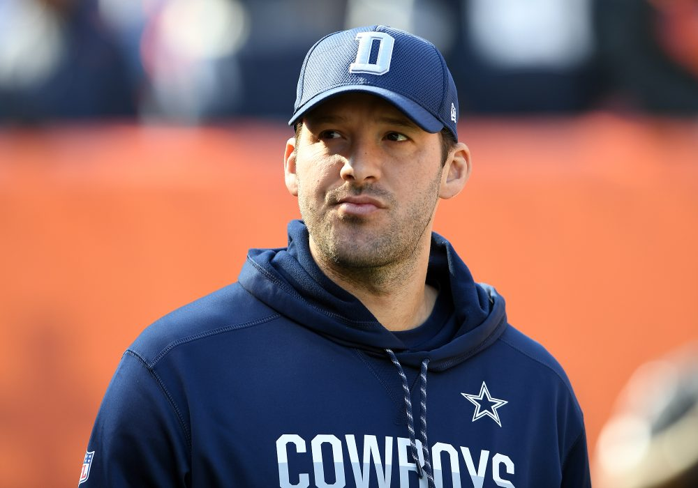 """""""It was a rare moment of what certainly appeared to be honesty,"""" Cindy Boren says of Tony Romo's recent speech."""