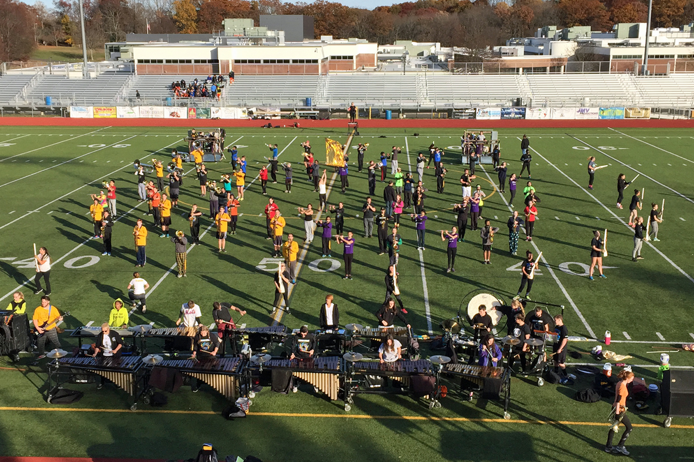 what makes a great marching band? | here & now
