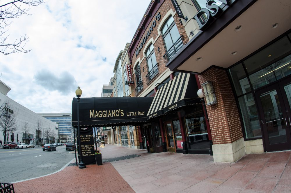 Maggiano's Little Italy issued an apology for hosting the National Policy Institute banquet at its Friendship Heights location in Washington on Friday, Nov. 18. (m01229/Flickr)