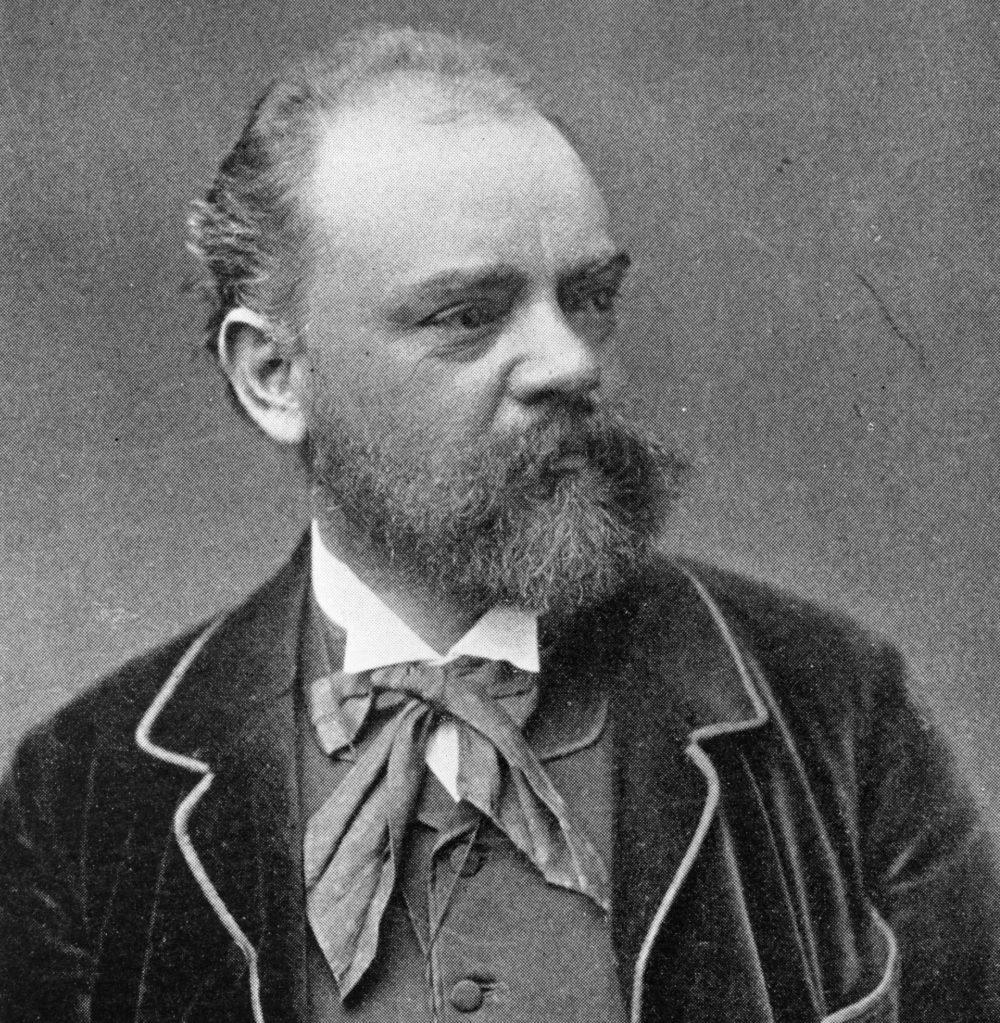 Czech composer Antonin Dvorak. (Hulton Archive/Getty Images)