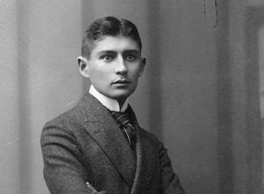 Franz Kafka, photographed as a young teen around 1906. (Wikimedia Commons)