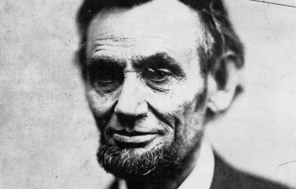 This Sunday, Feb. 5, 1865 photo made available by the Library of Congress shows President Abraham Lincoln in Washington. This image is last photo in the president's last photo session during his life. (Alexander Gardner/Library of Congress/AP)