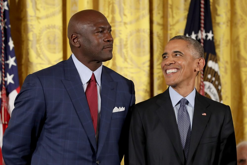 Michael Jordan was one of 21 recipients of the 2016 Presidential Medal of Freedom. (Chip Somodevilla/Getty Images)