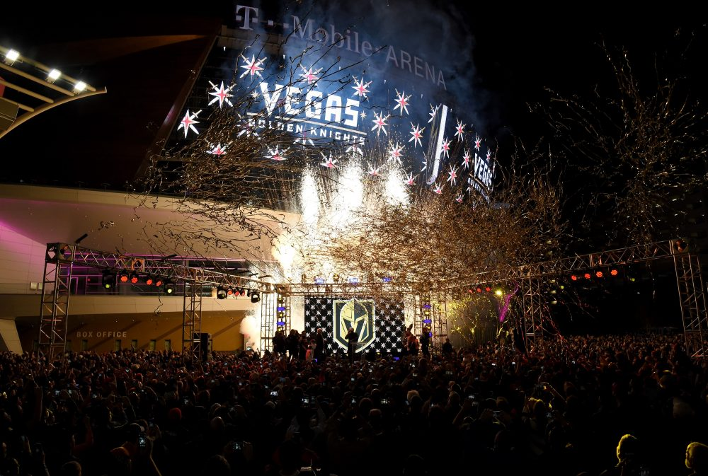 The NHL has a new franchise...the Vegas Golden Knights. (Ethan Miller/Getty Images)