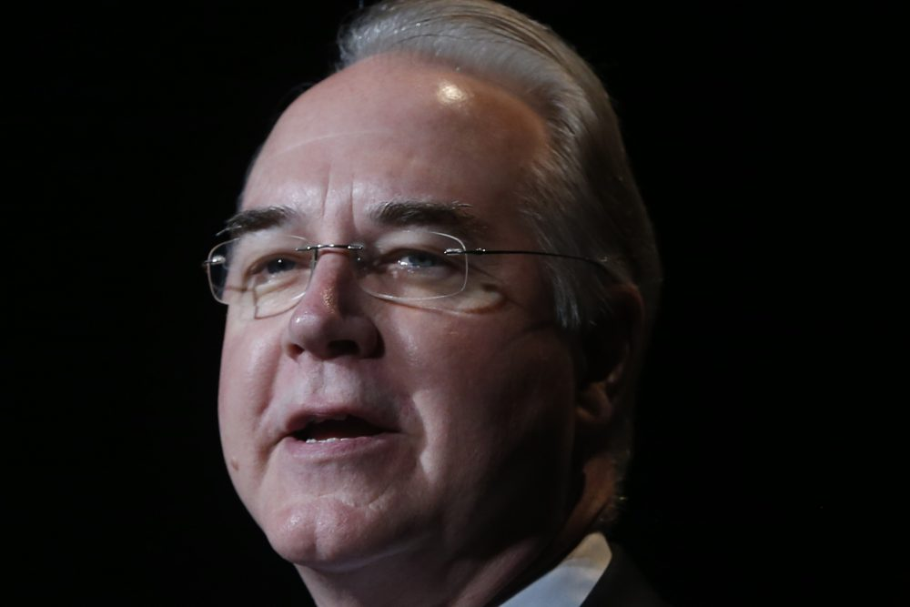 Rep. Tom Price, R-Ga., speaks at a summit in Washington in July 2013. (Charles Dharapak/AP)