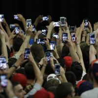 The failure of most pollsters to accurately predict the election outcome demonstrates a failure to embrace complexity, writes Julie Wittes Schlack, and that's risky not just for professional researchers, but for all of society. Pictured: Audience members stretch for photos of Donald Trump before a campaign rally at West Chester University on April 25, 2016, in West Chester, Pa. (Matt Slocum/AP)