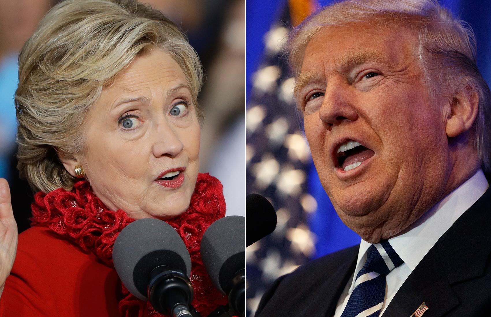 Trump Edges Ahead Of Clinton In N.H.