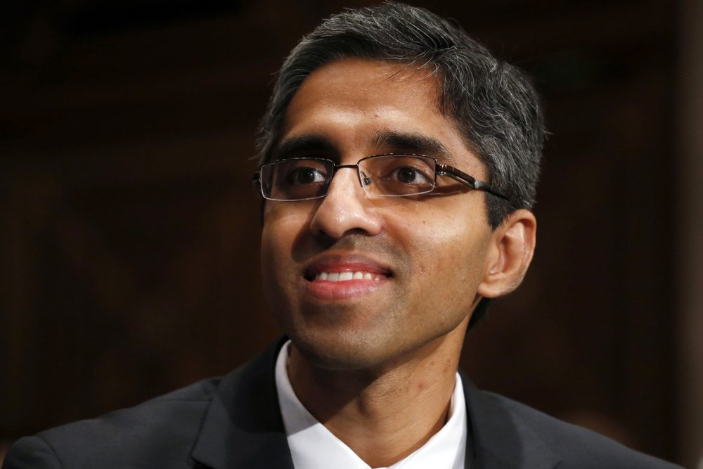 A new report by surgeon general Dr. Vivek Murthy calls for a major cultural shift in the way Americans view drug and alcohol addiction. (Charles Dharapak/AP)