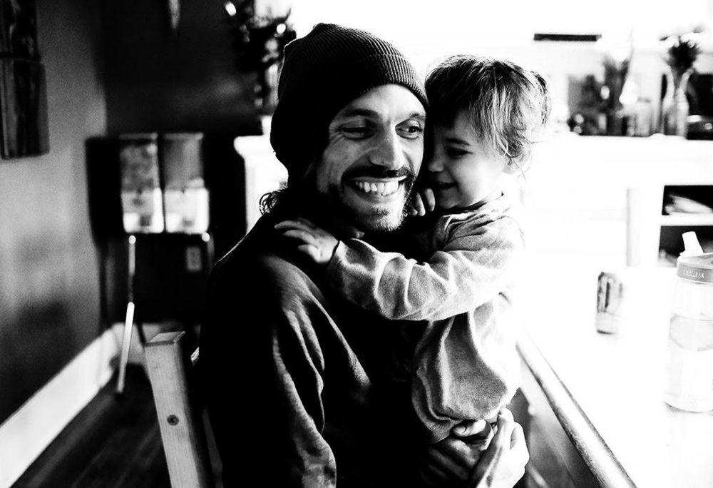 Travis Reitano, with his daughter, Nahli. (Courtesy Brooke Johnson)
