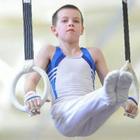 As soon as he first tried the sport of gymnastics, Christoph Buhler was hooked. (Courtesy)