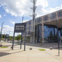 Boston Police Headquarters. (Joe Difazio for WBUR.)
