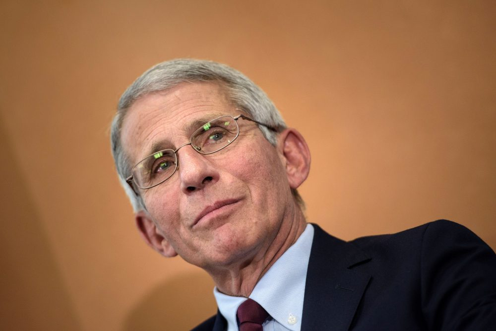 Dr. Anthony Fauci, director of the National Institute of Allergy and Infectious Diseases (NIAID). (Brendan Smialowski/AFP/Getty Images)
