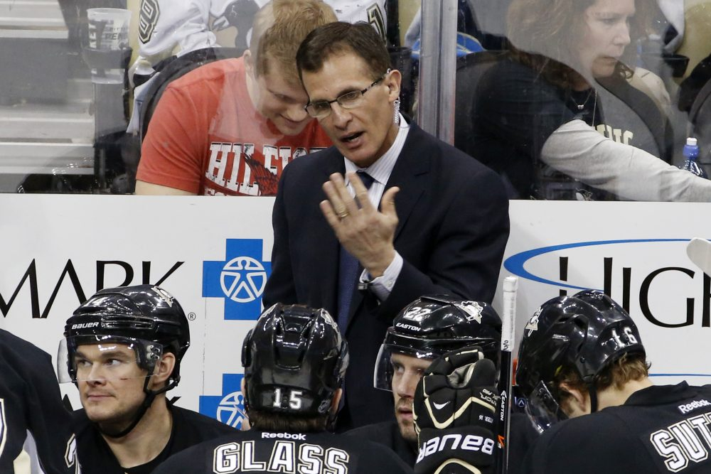 Tony Granato spent 13 years as a player and 14 years as a coach in the NHL before returning to his alma mater -- as both a hockey coach and a student. (Gene J. Puskar/AP)