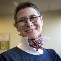 Cookbook author and baking guru Dorie Greenspan at WBUR. (Robin Lubbock/WBUR)