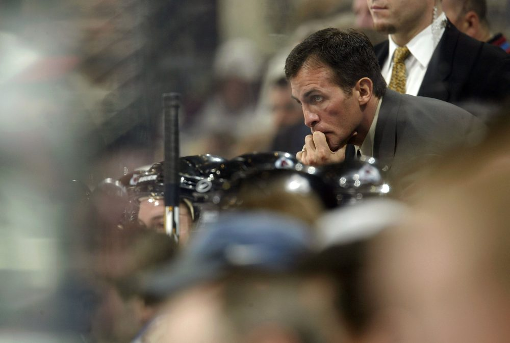 Tony Granato played and coached in the NHL for nearly 30 years. Now he's back at the University of Wisconsin -- as a hockey coach and a student. (Brian Bahr/Getty Images)