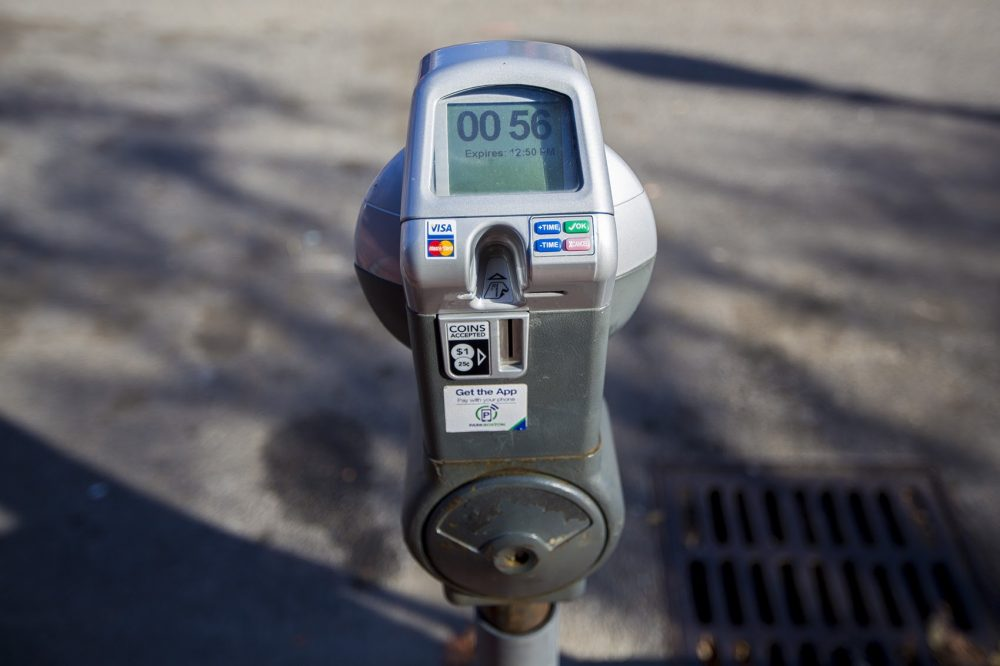 A parking meter on Dartmouth Street near Copley Square. Beginning next yeasr, parking meter rates in the Back Bay area will increase to $3.75 per hour — from the current $1.25 per hour rate.
