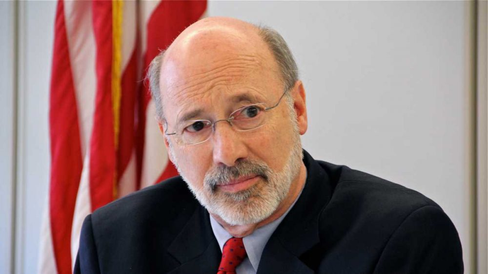Gov. Tom Wolf has vetoed a measure to delay identification of a police officer involved in a shooting for 30 days or until an investigation is completed. Wolf says that when police shoot at civilians, the public has a right to know as much as possible. (Emma Lee/WHYY)