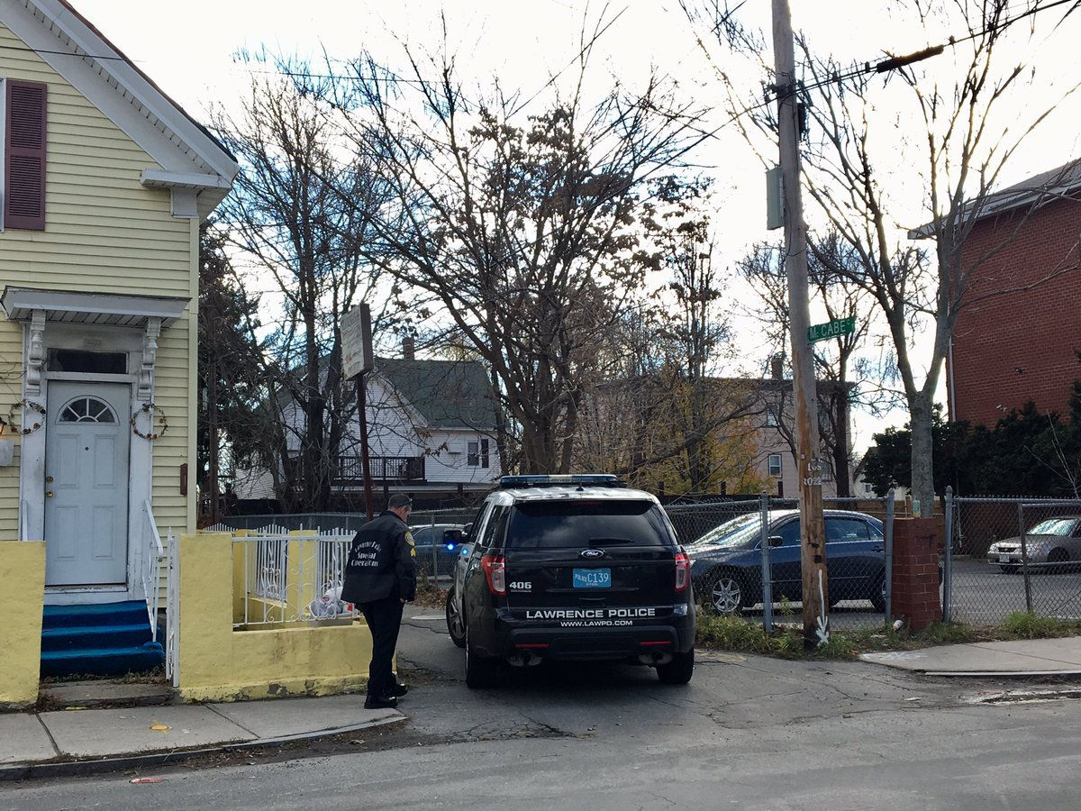 Viloria-Paulino's decapitated body was found Thursday afternoon in Lawrence by a woman walking her dog along the banks of the Merrimack River. (Shannon Dooling/WBUR)
