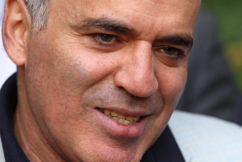 Chess grandmaster Garry Kasparov in August 2012. (Mikhail Metzel/AP)