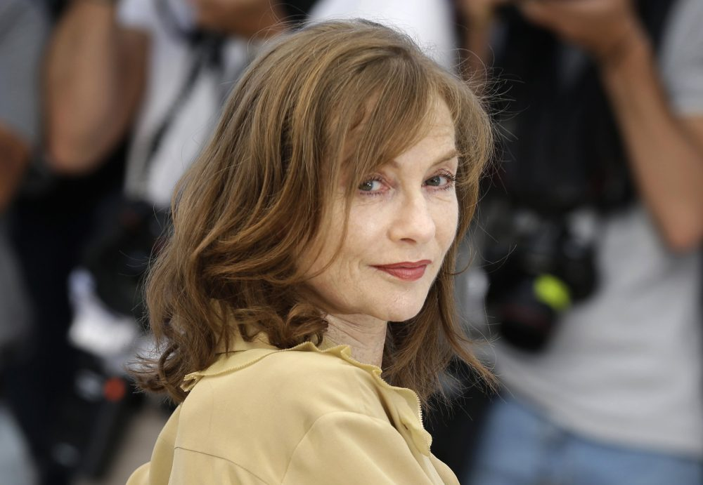 Actress Isabelle Huppert poses at the 69th Cannes Film Festival in May of this year. (Lionel Cironneau/AP)